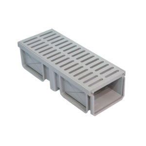 187 Trench Drain With Plastic Grating